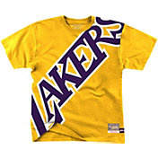 Mitchell & Ness Men's Los Angeles Lakers Bold Yellow T-Shirt