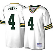 Mitchell & Ness Men's Green Bay Packers Brett Favre #4 White 1996 Away Jersey