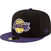 New Era Men's Los Angeles Lakers 59Fifty Black/Purple 2-Tone Fitted Hat