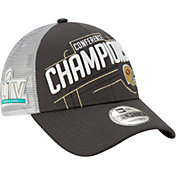 New Era Men's NFC Conference Champions San Francisco 49ers Locker Room 9Forty Adjustable Hat