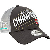 New Era Men's AFC Conference Champions Kansas City Chiefs Locker Room 9Forty Adjustable Hat