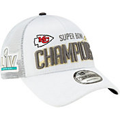 New Era Men's Super Bowl LIV Champions Kansas City Chiefs Locker Room 9Forty Adjustable Hat