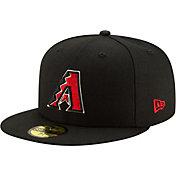 New Era Men's Arizona Diamondbacks 59Fifty Black Fitted Hat