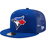 New Era Men's Toronto Blue Jays Blue 59Fifty Classic Trucker Fitted Hat