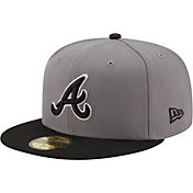 New Era Men's Atlanta Braves Gray 59Fifty Colorpack Fitted Hat