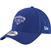 New Era Men's 2020 Postseason Chicago Cubs Locker Room 9Forty Adjustable Hat