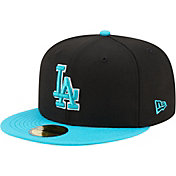 New Era Men's Los Angeles Dodgers Black 59Fifty Colorpack Fitted Hat