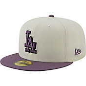 New Era Men's Los Angeles Dodgers White 59Fifty Colorpack Fitted Hat