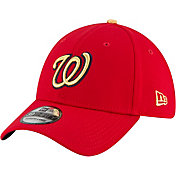 New Era Men's Washington Nationals Championship Gold 39Thirty Stretch Fit Hat