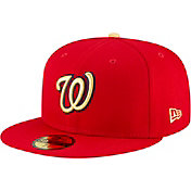 New Era Men's Washington Nationals Championship Gold 59Fifty Authentic Hat
