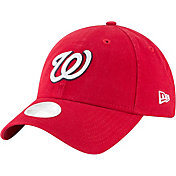 New Era Women's Washington Nationals Red Core Classic 9Twenty Adjustable Hat