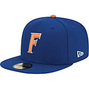 New Era Men's Florida Gators 59Fifty Game Blue Game Fitted Hat