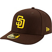New Era Men's San Diego Padres Brown 59Fifty Low Crown Fitted Hat