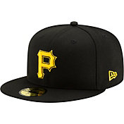 New Era Men's Pittsburgh Pirates 59Fifty Black Fitted Hat