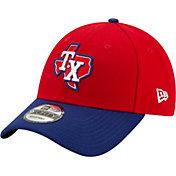 New Era Men's Texas Rangers Alternate 9Forty Red Adjustable Hat