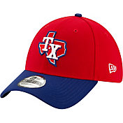 New Era Men's Texas Rangers 39Thirty Alternate Red Stretch Fit Hat