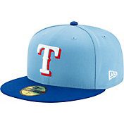 New Era Men's Texas Rangers Alternate Blue 59Fifty Fitted Hat
