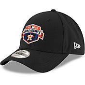 New Era Men's 2020 League Division Series Champions Houston Astros Black Locker Room 9Forty Adjustable Hat