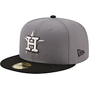 New Era Men's Houston Astros Gray 59Fifty Colorpack Fitted Hat
