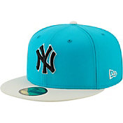 New Era Men's New York Yankees Blue 59Fifty Colorpack Fitted Hat