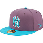 New Era Men's New York Yankees Purple 59Fifty Colorpack Fitted Hat