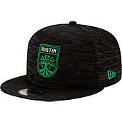 New Era Men's Austin FC 9Fifty Black Adjustable Hat