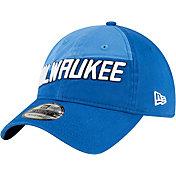 New Era Men's 2020-21 City Edition Milwaukee Bucks 9Twenty Adjustable Hat