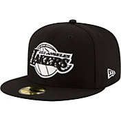 New Era Men's Los Angeles Lakers 2Tone 59Fifty Black Fitted Hat