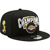 New Era Men's 2020 NBA Champions Los Angeles Lakers Locker Room 9Fifty Adjustable Hat