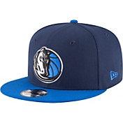 New Era Men's Dallas Mavericks 9Fifty Two Tone Adjustable Snapback Hat