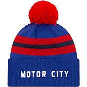 New Era Men's 2020-21 City Edition Detroit Pistons Knit Hat