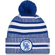 New Era Men's Kentucky Wildcats Blue Sport Knit Pom Beanie