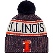New Era Men's Illinois Fighting Illini Sport Navy Knit