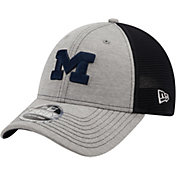 New Era Men's Michigan Wolverines Blue 9Forty Neo Adjustable Hat