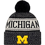 New Era Men's Michigan Wolverines Sport Navy Knit