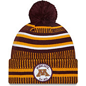 New Era Men's Minnesota Golden Gophers Maroon Sport Knit Pom Beanie