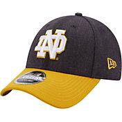 New Era Men's Notre Dame Fighting Irish Navy League 9Forty Adjustable Hat
