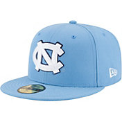 New Era Men's North Carolina Tar Heels 59Fifty Game Carolina Blue Game Fitted Hat