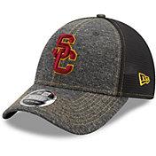 New Era Men's USC Trojans Grey 9Forty Neo Adjustable Hat