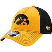 New Era Men's Iowa Hawkeyes 9Forty Neo Adjustable Black Hat
