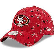 New Era Women's San Francisco 49Ers Red Blossom Adjustable Hat