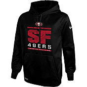 New Era Men's San Francisco 49ers Combine Performance Black Hoodie