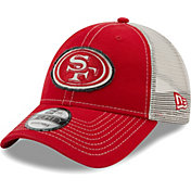 New Era Men's San Francisco 49Ers Red 9Forty Rugged Adjustable Hat