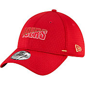 New Era Men's San Francisco 49ers Red Summer Sideline 39Thirty Stretch Fit Hat