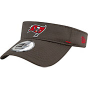 New Era Men's Tampa Bay Buccaneers Grey Summer Sideline Visor
