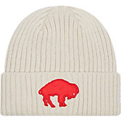 New Era Men's Buffalo Bills White Core Cuffed Knit Beanie