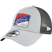 New Era Men's Buffalo Bills AFC East Division Champions 9Forty Grey Adjustable Hat
