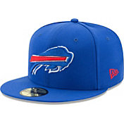 New Era Men's Buffalo Bills Royal 59Fifity Logo Fitted Hat