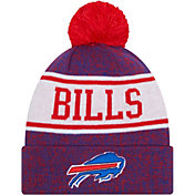 New Era Youth Buffalo Bills Royal Banner Knit Pom Beanie