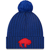 New Era Men's Buffalo Bills Royal Breeze Knit Pom Beanie
